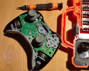 pistola-de-calor-y-controlador-xbox